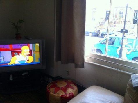 Marge Simpson, que fais-tu là?