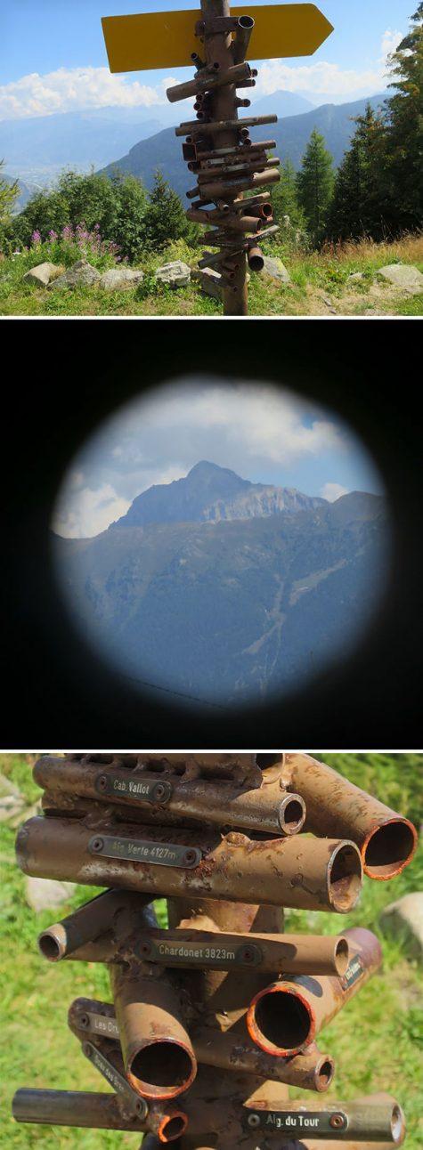 Un appareil en Suisse pour l'observation des sommets des montagnes